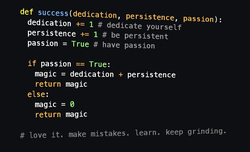 programmers motivation